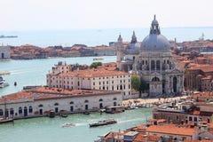 The Basilica di Santa Maria. Della Salute stock image