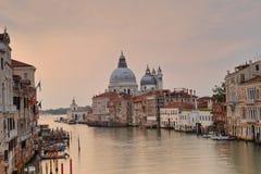 Basilica di Santa Maria della Salute on the giudecca Canal in Venice Stock Image