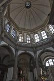 Basilica di Santa Maria della Salute interior in Venice, Italy. Royalty Free Stock Photography