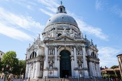Basilica di Santa Maria della Salute stock images