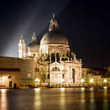 The Basilica di Santa Maria della Salute - Venice Royalty Free Stock Photography