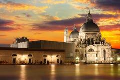 The Basilica di Santa Maria della Salute, Venice royalty free stock photography