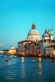 Basilica Di Santa Maria della Salute in Venice Stock Photos