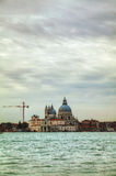 Basilica Di Santa Maria della Salute  in Venice Royalty Free Stock Photo