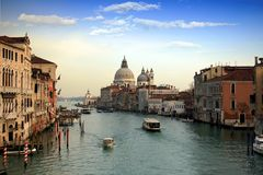Basilica di Santa Maria. Della Salute in Venice Royalty Free Stock Photography