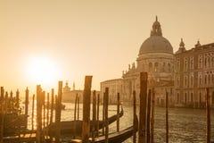 Basilica di Santa Maria della Salute in Venice Royalty Free Stock Photography