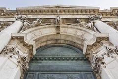 Basilica di Santa Maria della Salute in Venice, Italy. Royalty Free Stock Photography