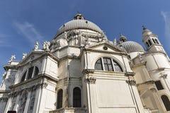 Basilica di Santa Maria della Salute in Venice, Italy. Stock Photos