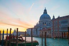 Basilica Di Santa Maria della Salute in Venice Stock Images