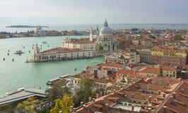 Basilica di Santa Maria della Salute view, Venice Stock Photography