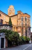 Basilica di Santa Maria Gloriosa dei Frari in Venice Stock Image