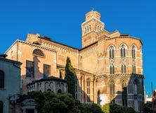 Basilica di Santa Maria Gloriosa dei Frari in Venice Royalty Free Stock Photo