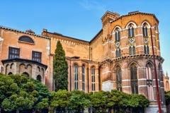 Basilica di Santa Maria Gloriosa dei Frari in Venice Stock Images