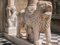 Basilica di Santa Maria Maggiore Bergamo, Italy Royalty Free Stock Image