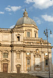 Basilica di Santa Maria Maggiore, Cappella Paolina, view from  Piazza Esquilino in Rome. Royalty Free Stock Photo