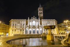 Basilica di Santa Maria Maggiore Stock Photos