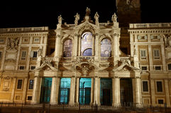 Basilica di Santa Maria Maggiore - one of the most Royalty Free Stock Photo