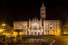 Basilica di Santa Maria Maggiore, Rome, Italy. Basilica di Santa Maria Maggiore - one of the most famous basilica in Rome Stock Image