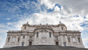 Basilica di Santa Maria Maggiore in Rome Stock Photo