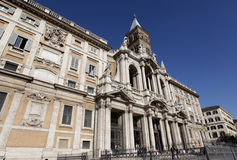 The Basilica di Santa Maria Maggiore in Rome Stock Images
