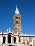 The Basilica di Santa Maria Maggiore in Rome Royalty Free Stock Photos