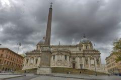 The Basilica di Santa Maria Maggiore, Rome Stock Images