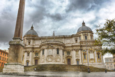 The Basilica di Santa Maria Maggiore, Rome Stock Photos