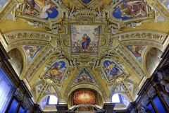 The Basilica di Santa Maria Maggiore in Rome Royalty Free Stock Images