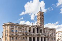 Basilica di Santa Maria Maggiore in Rome, Italy Stock Photography