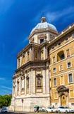 Basilica di Santa Maria Maggiore in Rome. Italy Stock Photography