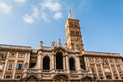 Basilica di Santa Maria Maggiore, Rome, Italy Stock Photography