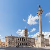 Basilica di Santa Maria Maggiore in Rome, Italy Royalty Free Stock Image