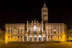 Basilica di Santa Maria Maggiore, Rome, Italy. Basilica di Santa Maria Maggiore - one of the most famous basilica in Rome Royalty Free Stock Images