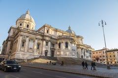 Basilica di Santa Maria Maggiore in Rome, Italy. Stock Photo