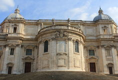 Basilica di Santa Maria Maggiore  in Rome, Italy Stock Photos