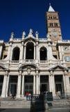 Basilica di Santa Maria Maggiore in Rome, Italy. One of the four main basilicas of Rome — Basilica di Santa Maria Maggiore Royalty Free Stock Images