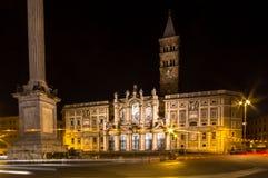 Basilica di Santa Maria Maggiore, Rome, Italy Royalty Free Stock Image