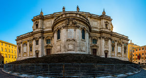 Basilica di Santa Maria Maggiore in Rome, Italy. Basilica di Santa Maria Maggiore is Papal major basilica and largest Catholic Marian church in Rome, Italy royalty free stock photo