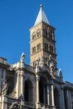 Basilica di Santa Maria Maggiore in Rome, Italy. Stock Photography