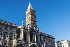 Basilica di Santa Maria Maggiore in Rome, Italy. Royalty Free Stock Photo