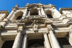 Basilica di Santa Maria Maggiore in Rome, Italy. Stock Images