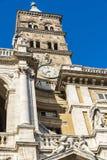 Basilica di Santa Maria Maggiore in Rome, Italy. Stock Photos