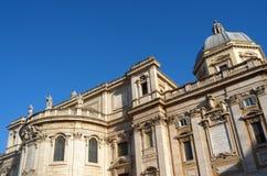 Basilica di Santa Maria Maggiore in Rome Stock Images