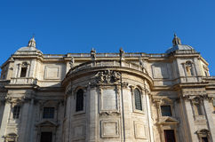 Basilica di Santa Maria Maggiore in Rome Royalty Free Stock Photography