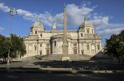 Basilica di Santa Maria Maggiore in Rome, Italy royalty free stock photography
