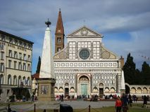 Basilica di Santa Maria Novella Florence Italy. Santa Maria Novella is a church in Florence, Italy, situated just across from the main railway station which Stock Image