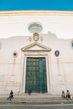 Basilica di Santa Maria Sopra Minerva - Italy old architecture Stock Photos