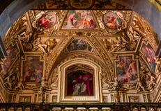 Basilica di Santa Maria in Trastevere, Rome, Italy Stock Photography