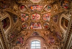 Basilica di Santa Maria in Trastevere, Rome, Italy Stock Photos
