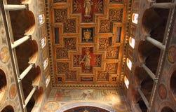 Basilica di SantAgnese fuori le mura Stock Image
